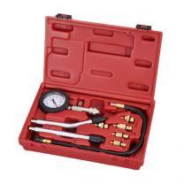 Set per la misurazione della compressione del motore a gasolio (9 pz.)